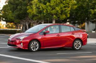 Toyota Prius In Review 2016 Toyota Prius Drive Review Motor Trend