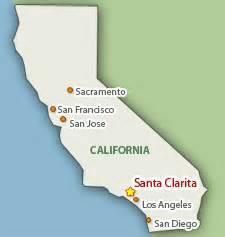 santa clarita california map santa clarita maps