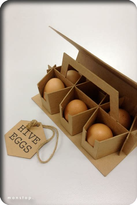 M O N S T O P Packaging Design Egg Packaging Egg Packaging Template