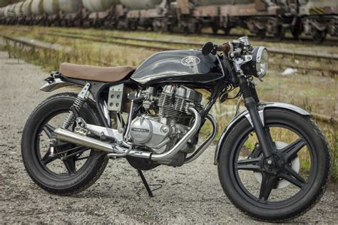 honda cb 250 honda cb250 custom by retro bikes croatia