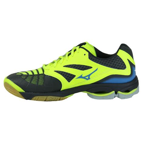 v sport safety shoes mizuno wave lightning z3 mens court shoes safety yellow