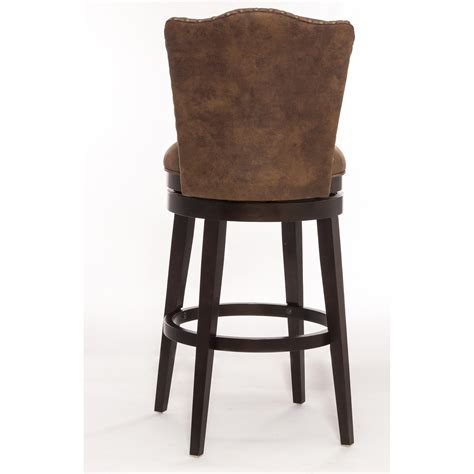 Wood Swivel Bar Stools by Hillsdale Wood Stools Swivel Bar Stool With Upholstered