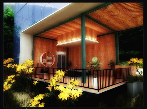 modern bamboo house plans modern bamboo house design on behance