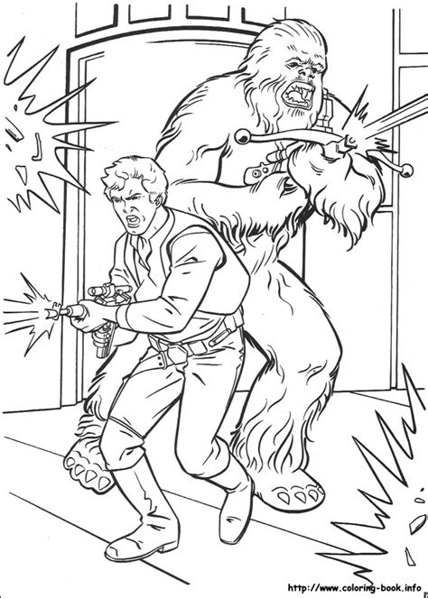 free coloring pages of chewbacca