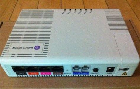 Modem Alcatel Lucent alcatel lucent i 240e q gpon onu optical network terminals