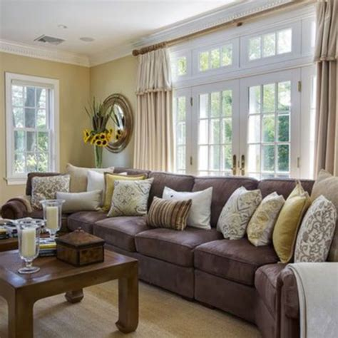 living room with brown couches 34 living room paint ideas with brown furniture