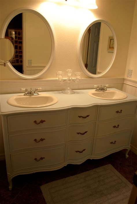 Dresser Turned Into A Double Sink Vanity By Keri Gwynn And Dresser Turned Bathroom Vanity
