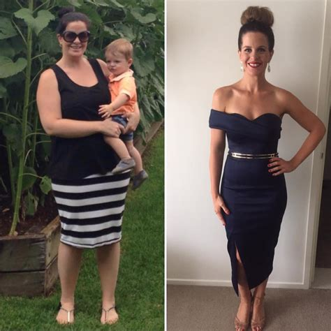 i weight loss gorgeous compares before and after 19kg