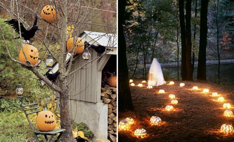 Halloween Themes For Outside | 90 cool outdoor halloween decorating ideas digsdigs