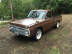 1974 Ford Courier 1974 Ford Courier Auto Restorationice