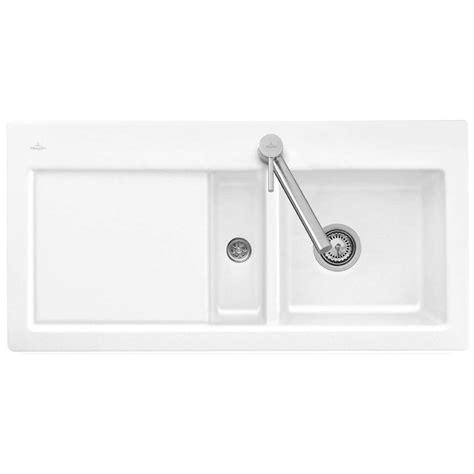 franke by villeroy boch villeroy boch subway 60 ceramic sink kitchen sinks taps