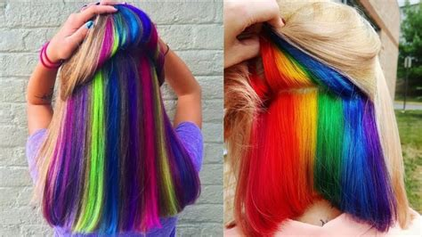 Hairstyles Color by Amazing Hairstyles Tutorial New Hair Color