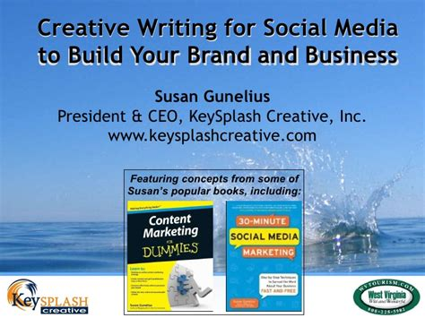 how to use creative writing prompts business building books creative writing for social media to build your brand and