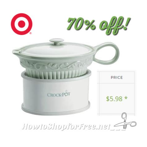 crock pot gravy boat 6 gravy crock pot how to shop for free with kathy spencer