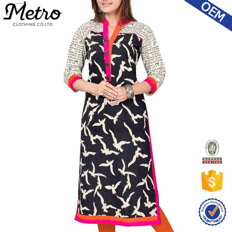 top design top design embroidery ladies casual kurta designs for