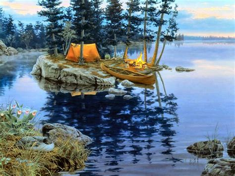 bob ross painting bushes lure of the wilderness by darrell bush darrell bush