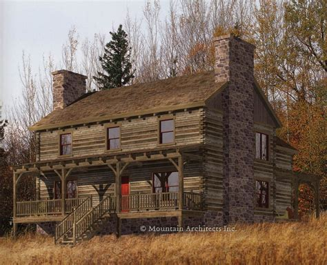 stone creek house plan stonecreek log home floorplan cabin in the woods pinterest