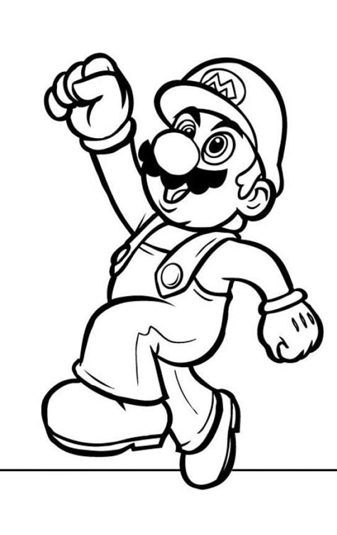 mario coloring pages for adults top 20 free printable super mario coloring pages online