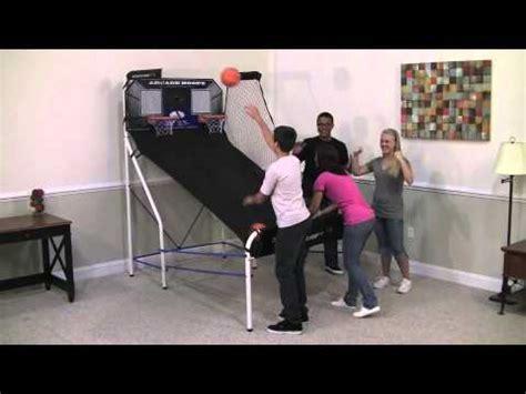 arcade hoops basketball cabinet sportcraft basketball arcade hoops youtube