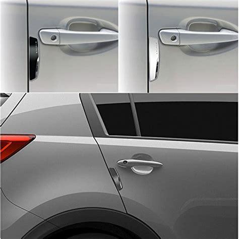 Slim Door Guard Car Door Bumper 8 Pcs Cs212 4 pcs status high glossy slim door edge guards bumper protector trim guard sticker molding black