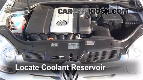 automobile air conditioning repair 2007 volkswagen rabbit on board diagnostic system fix coolant leaks 2006 2009 volkswagen rabbit 2008 volkswagen rabbit s 2 5l 5 cyl 2 door