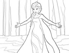 Queen Giving Hug Coloring Page Free Printable Frozen Pages sketch template