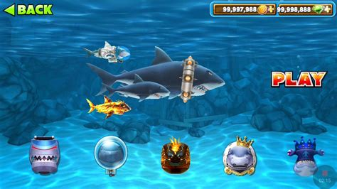 unduh game hungry shark mod hungry shark evolution mod game play youtube