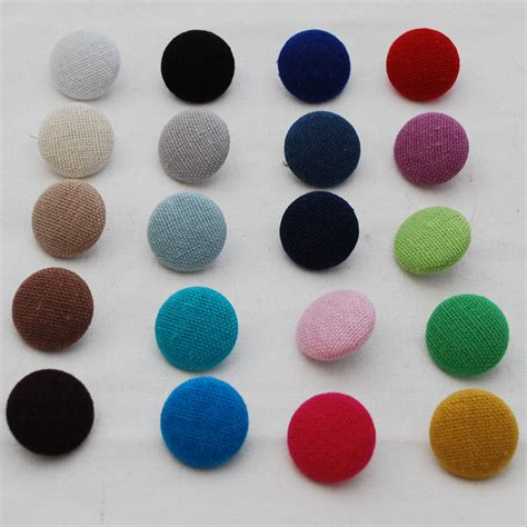 upholstery button fabric covered buttons 10 count handmade 14mm 19mm