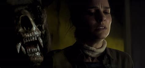 The Natalie Portman Is Scary by Trailer For Alex Garland S Annihilation