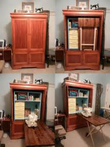 Sewing Armoire Cabinet by 25 Unique Sewing Cabinet Ideas On Craft