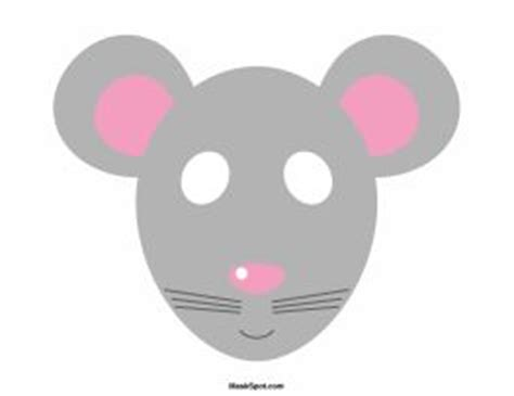 mouse mask template printable 1000 ideas about mouse mask on masking