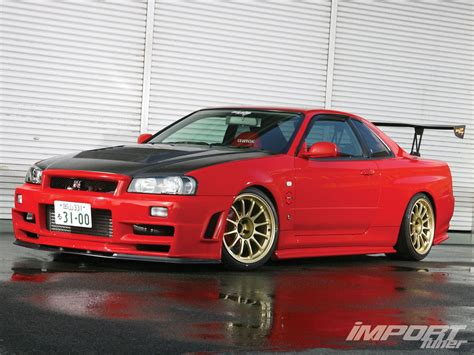 R34 Gtr Nissan Skyline Nissan Skyline Gt R R34 Import Tuner Magazine
