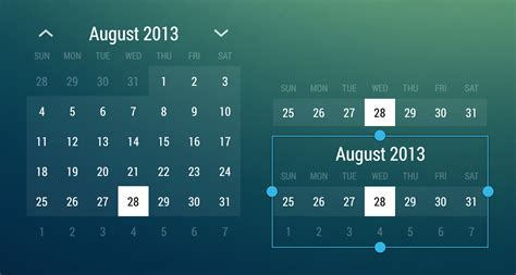 calendar widget android github romannurik android monthcalendarwidget a simple exle of a responsive month calendar
