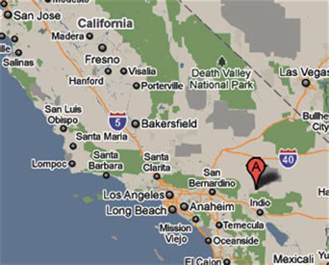 california map joshua tree sighting reports 2010