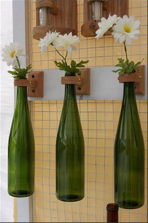 ingenious ways  recycle glass bottles upcycle art