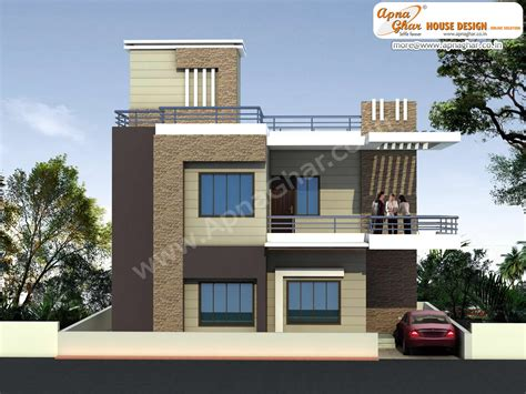 80 yard home design outstanding modern duplex house elevations 45 about