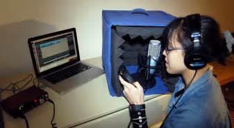 Setting Up Small Home Studio Voice Recording In The Home Studio Transom