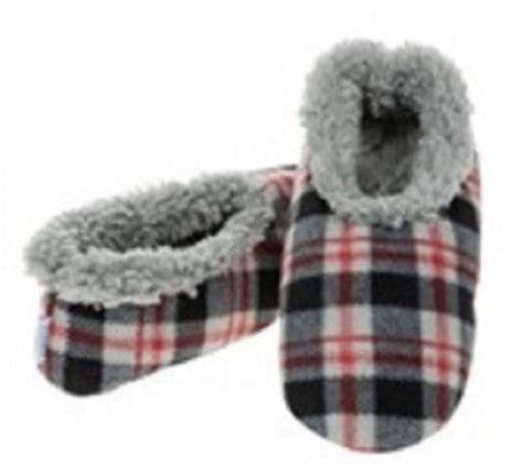 snoozies mens slippers mens snoozie slippers fleece anti slip soft gift size ebay
