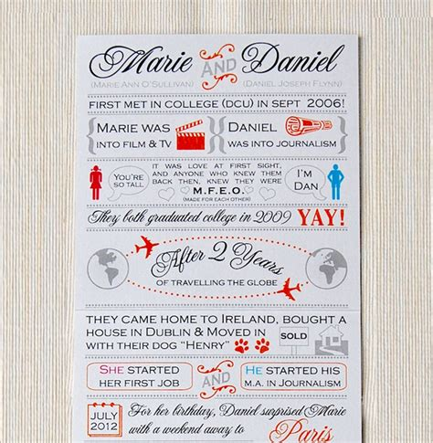 Wedding Story by Lots Of Invitations