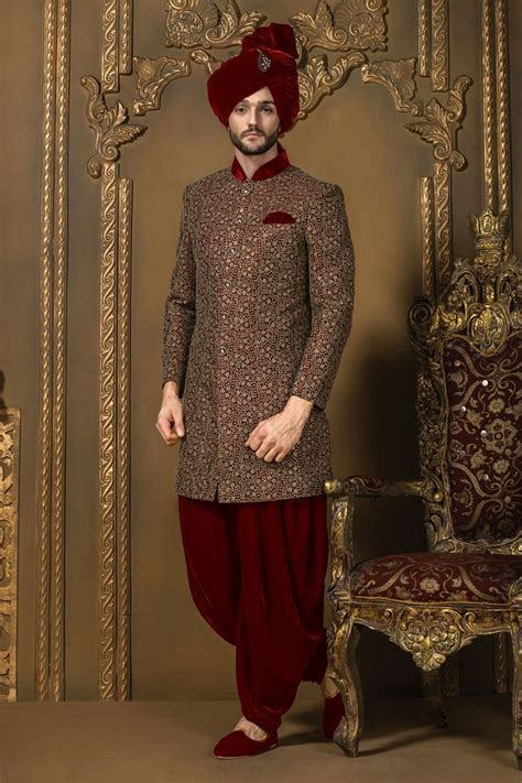 Latest Sherwani Designs 2019 that You Must Try   StyleGlow.com