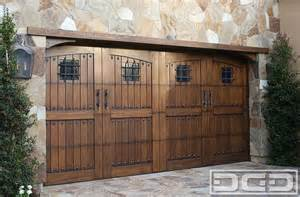Spanish Style Garage by Cottage Style Exterior Doors Dynamic Garage Door