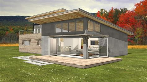 modern shed house plans contemporary house plans with walkout bat