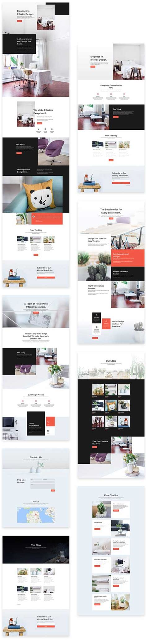 themes for design agencies free divi theme layout pack for interior design agency