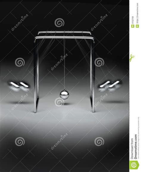 swinging balls on desk swinging ball desk toy royalty free stock photos image