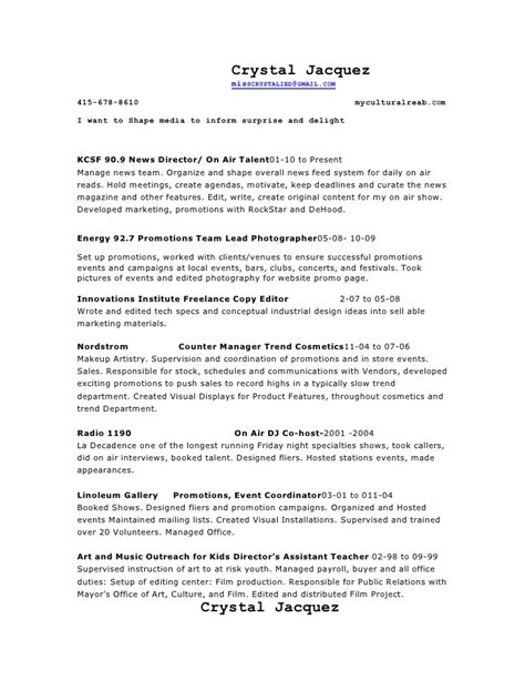 Cosmetic Account Executive Sle Resume by Search Results For Resume Sales Manager Calendar 2015