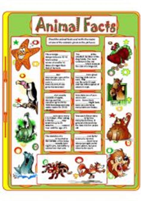 printable endangered animal fact sheets english teaching worksheets animal facts