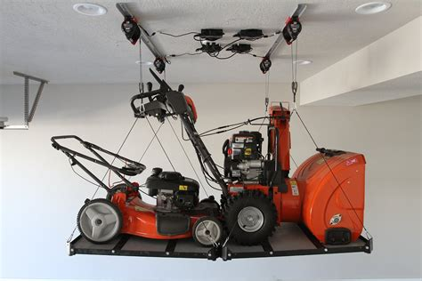 Garage Storage Lift Diy The World S Smart Hoist Makes Overhead Garage