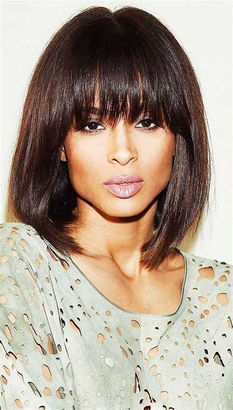 bob hairstyles with bangs for 50 50 best bob hairstyles with bangs bob hairstyles 2017