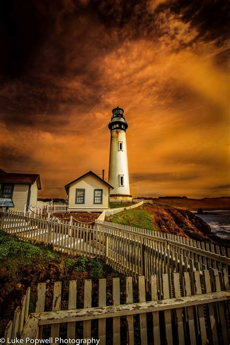 Light California by Pigeon Point Lighthouse California The Lighthouse