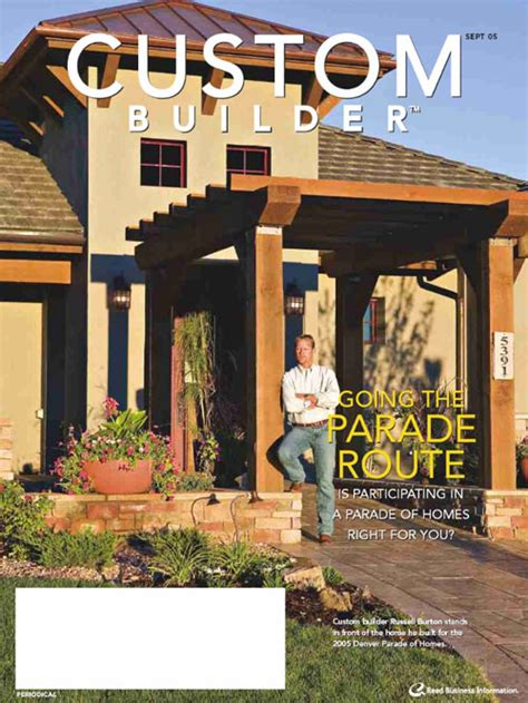 custom home builder magazine free custom builder magazine the green head